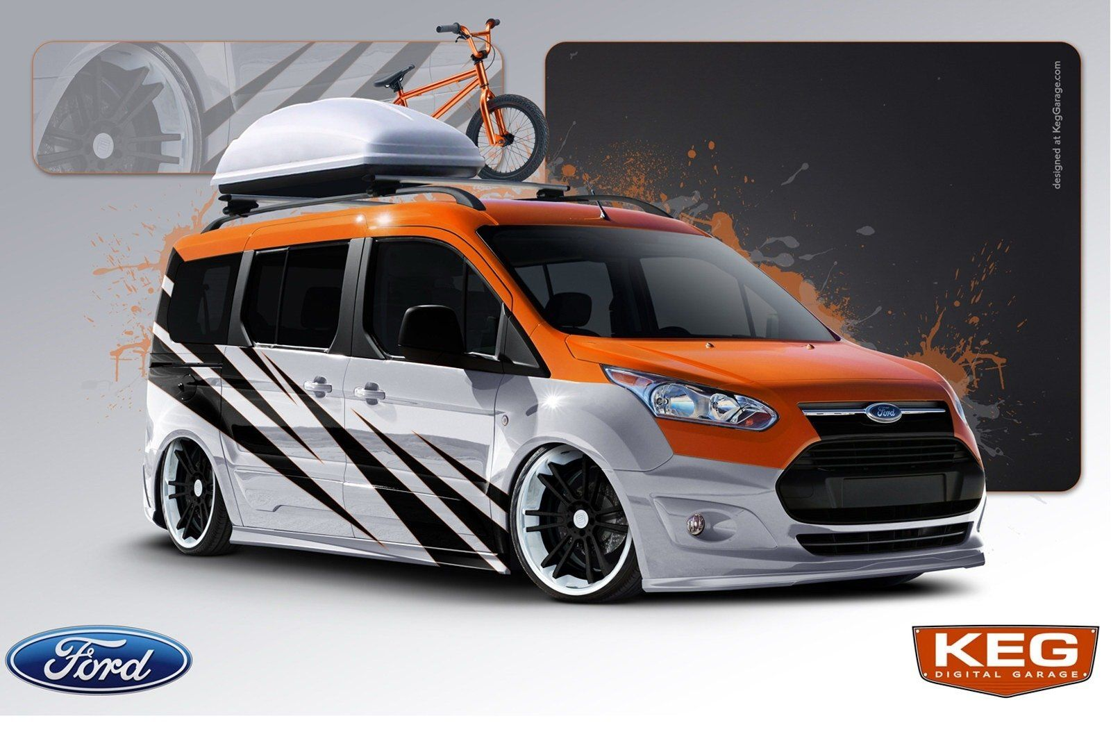 Vandemonium Hits Fever Pitch With 10 Customized Ford Transit
