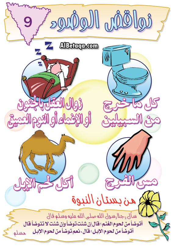 أحكام الوضوء بالصور للأطفال Muslim Kids Activities Islamic Kids Activities Islam For Kids