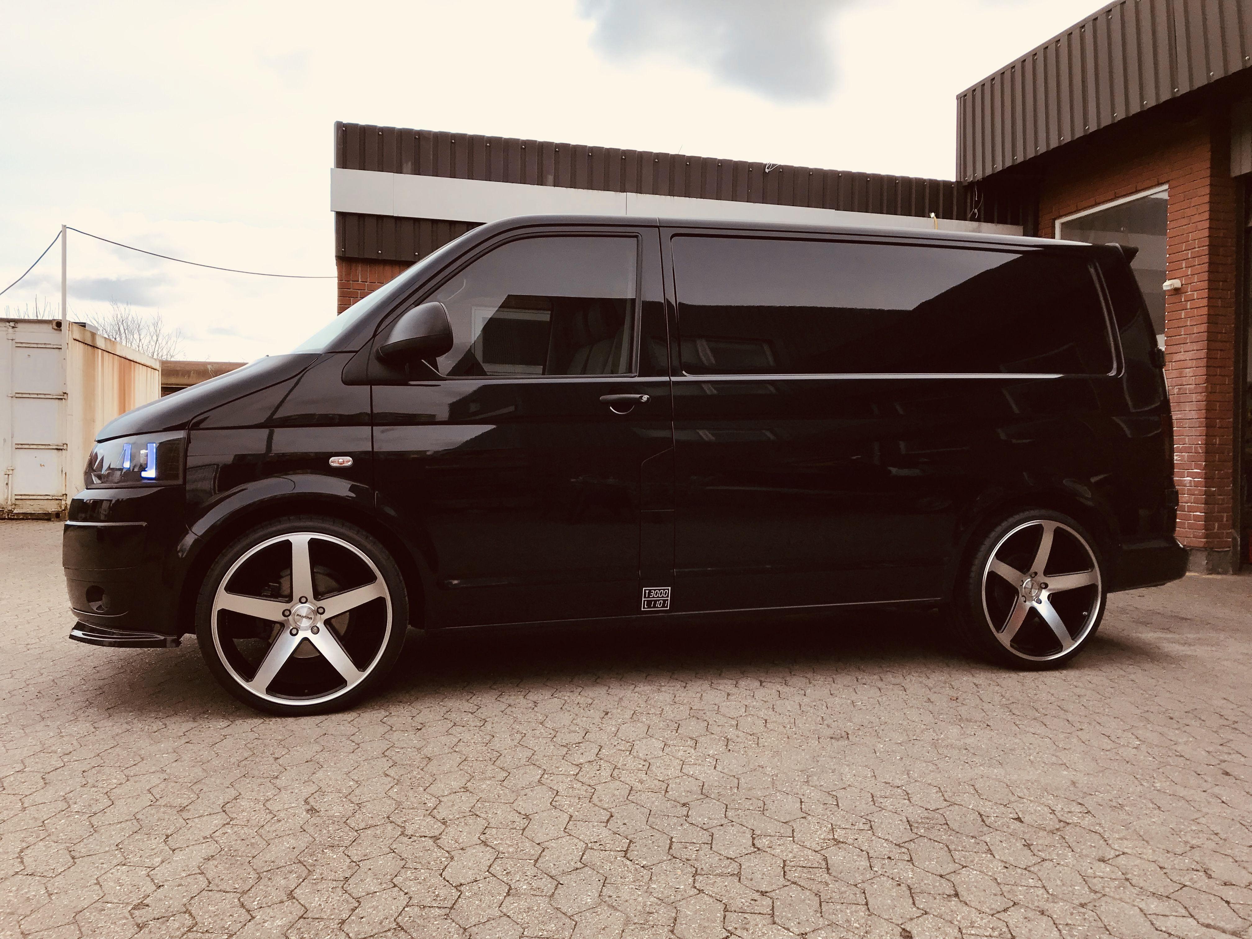 """Fonkelnieuw VW #T5 #styling #black #22"""" #wheels #Alloys #Transporter #Ideas IJ-72"""