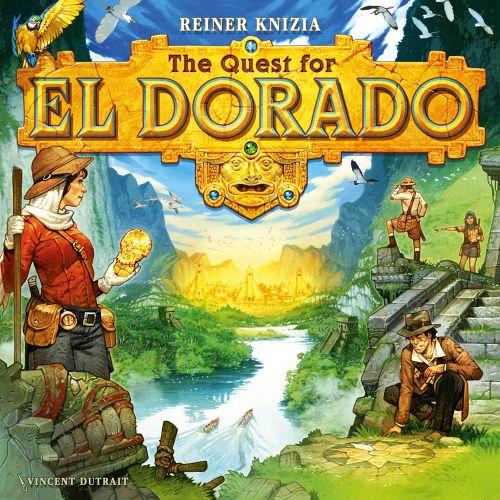 Reiner Knizia S Quest For The Quest For El Dorado New Art By Vincent Dutrait El Dorado Game Illustration Board Games