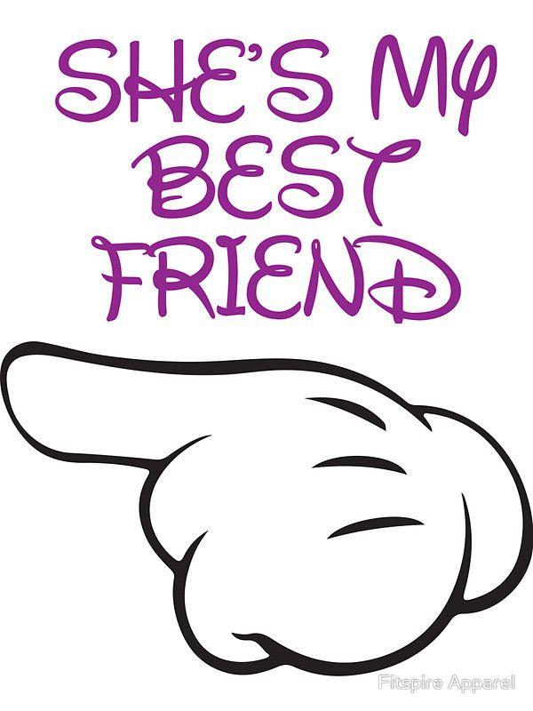 She S My Best Friend 1 2 Sticker By Fitspire Apparel Best Friend Wallpaper Friends Wallpaper Best Friends