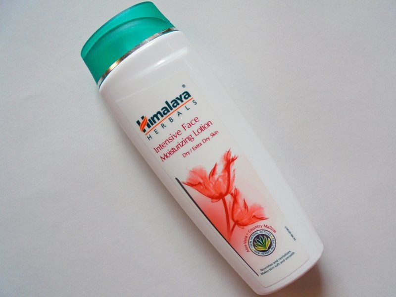 Himalaya Intensive Face Moisturizing Lotion Review Moisturizing Face Lotion Moisturizing Lotions Extra Dry Skin