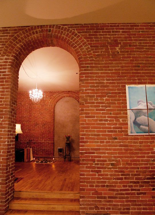 love brick walls - warmth!