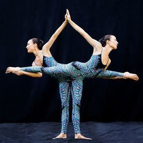 these gorgeous yoga poses will blow your mind  partner