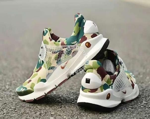 check out 73954 268ba Nike Sock Dart x BAPE