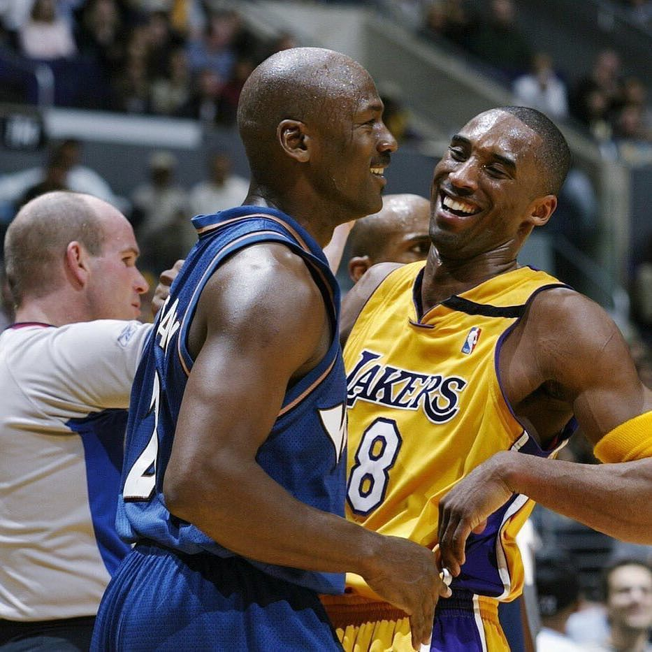 13 years ago today Kobe Bryant dropped 55 points in his last game against his idol Michael Jordan.  #Legends