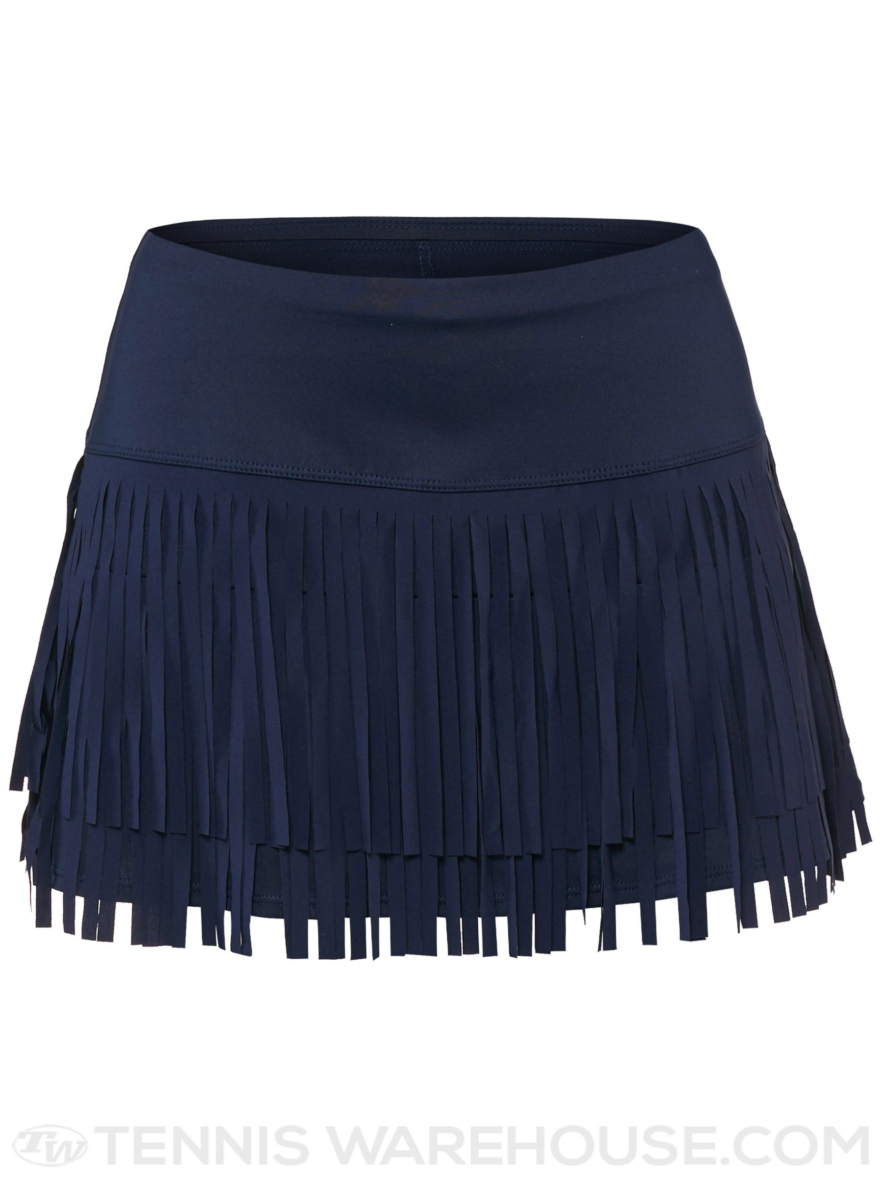 927a5c7276 Lucky in Love Women's Fringe with Benefits Skirt - Navy | Women's ...
