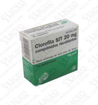 CLOROFILA SIT 20 MG (CLORO) 50 GRAGEAS