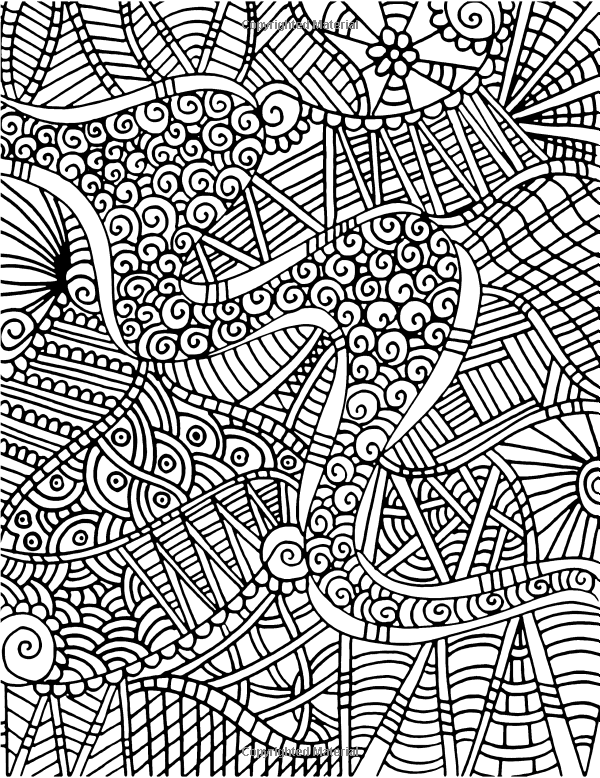 Tangled angles a kaleidoscopia coloring book an abstract coloring book
