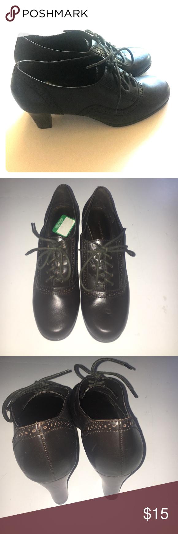 "Etienne Aigner Raleigh Shoes - Size 9M Unworn. Great shape. 3"" high heels. Brown Color. Etienne Aigner Shoes Mules & Clogs"