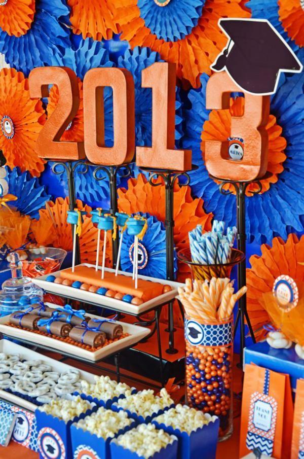 Graduation Grad Congrats Party Planning Idea Decorations