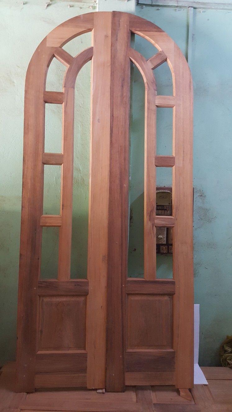 Arched Top Rail Door
