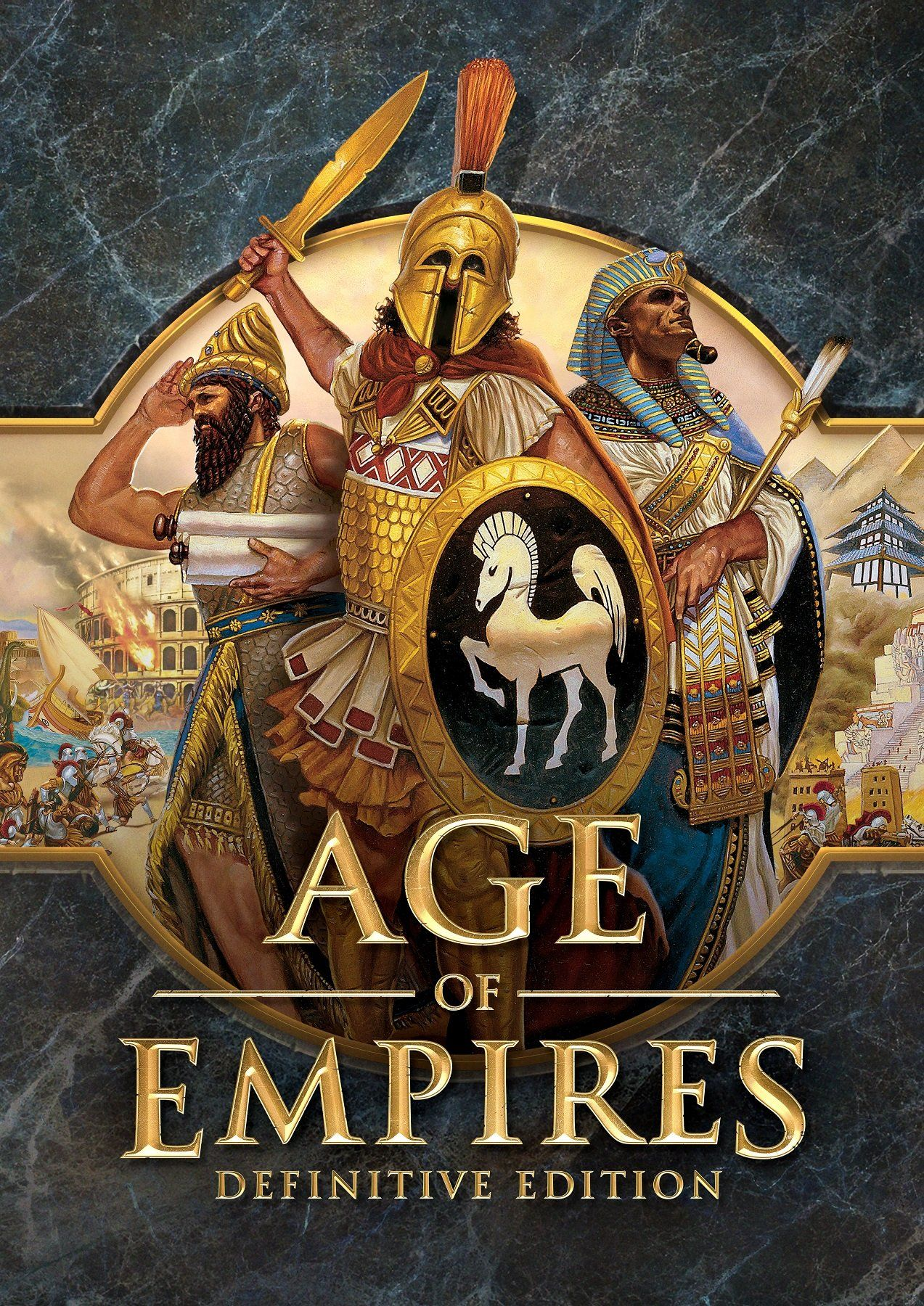 Age Of Empires Definitive Edition Poster Video Game Posters