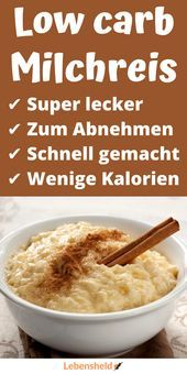 Photo of Low Carb Milk Rice – Hero of Life – Apple Pie Low Carb Mil …