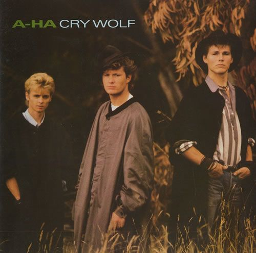 A Ha Cry Wolf Uk 7 Vinyl Single 7 Inch Record In 2020 Pop