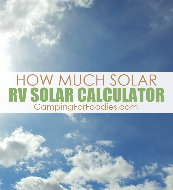 Photo of How Much Solar Power Do I Need For My RV? Simple RV Solar Calculator