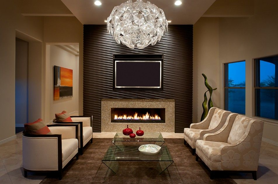 Angelica Henry Design utilized Onda Two on this beautiful fireplace Install.  Featured in Luxe Magazine and photography by Mark Boisclair.  Check out more of this Arizona Install at http://soelbergi.com/texture-install/luxe-magazine/