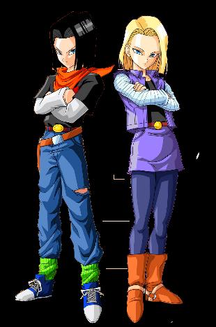 Androide Numero 17 Y 18 By Https Www Deviantart Com Katy2710 On Deviantart Anime Dragon Ball Super Dragon Ball Art Dragon Ball Super Manga