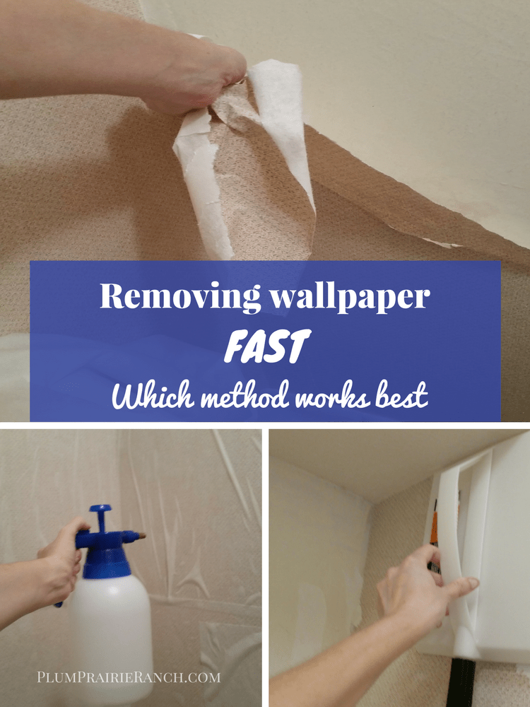"Removing wallpaper fast so you can get on with ""the fun"
