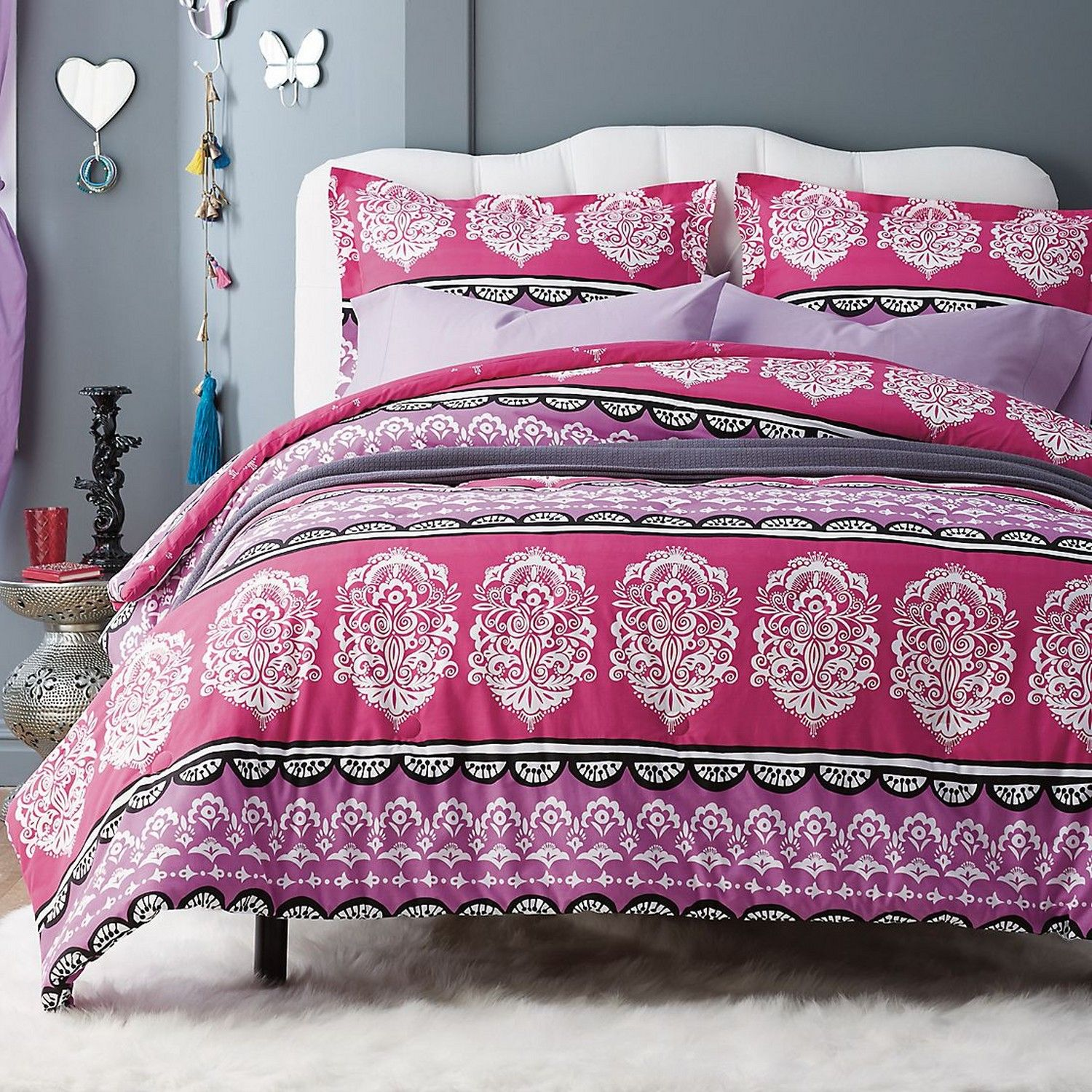 Pretty Bed Covers Pretty Boho Style Kids 39 Comforter And Duvet Cover Feature