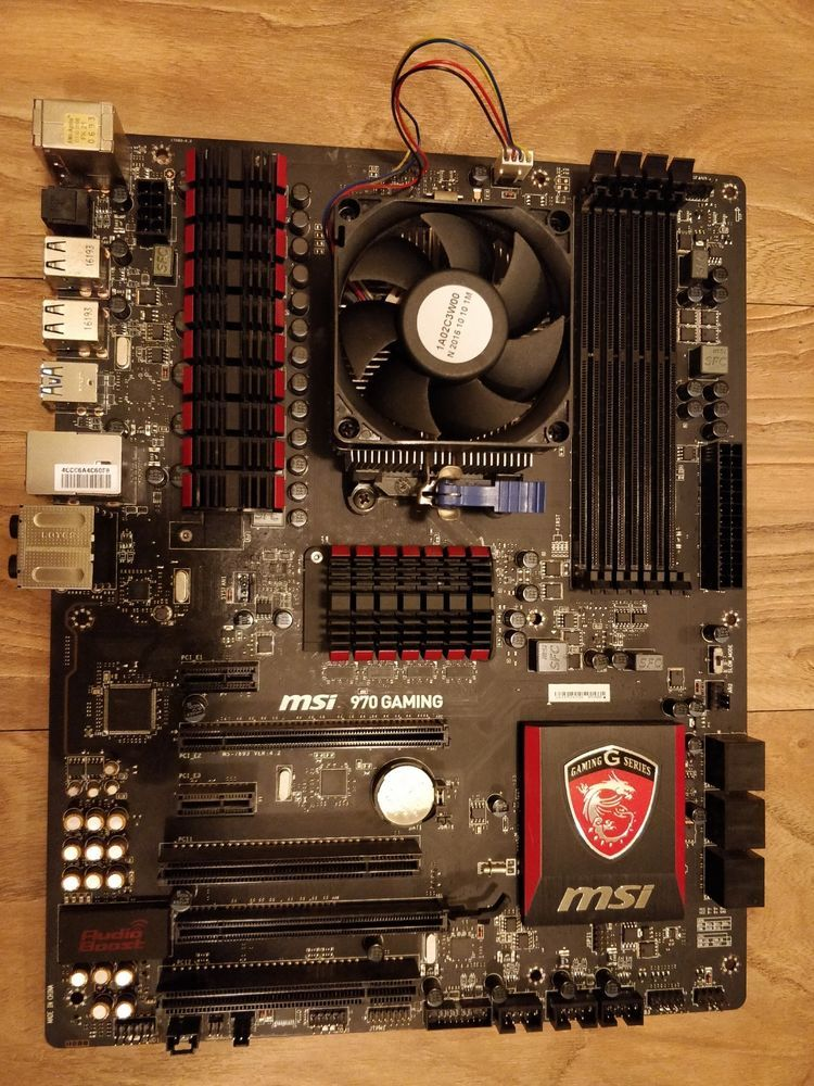 AMD FX 8350 8-Core 4 2GHz Turbo Combo with MSI 970 Gaming