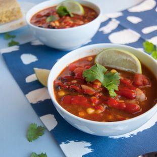 Celebrate National Chili Day with this One-Pot Vegan Sriracha Chili.