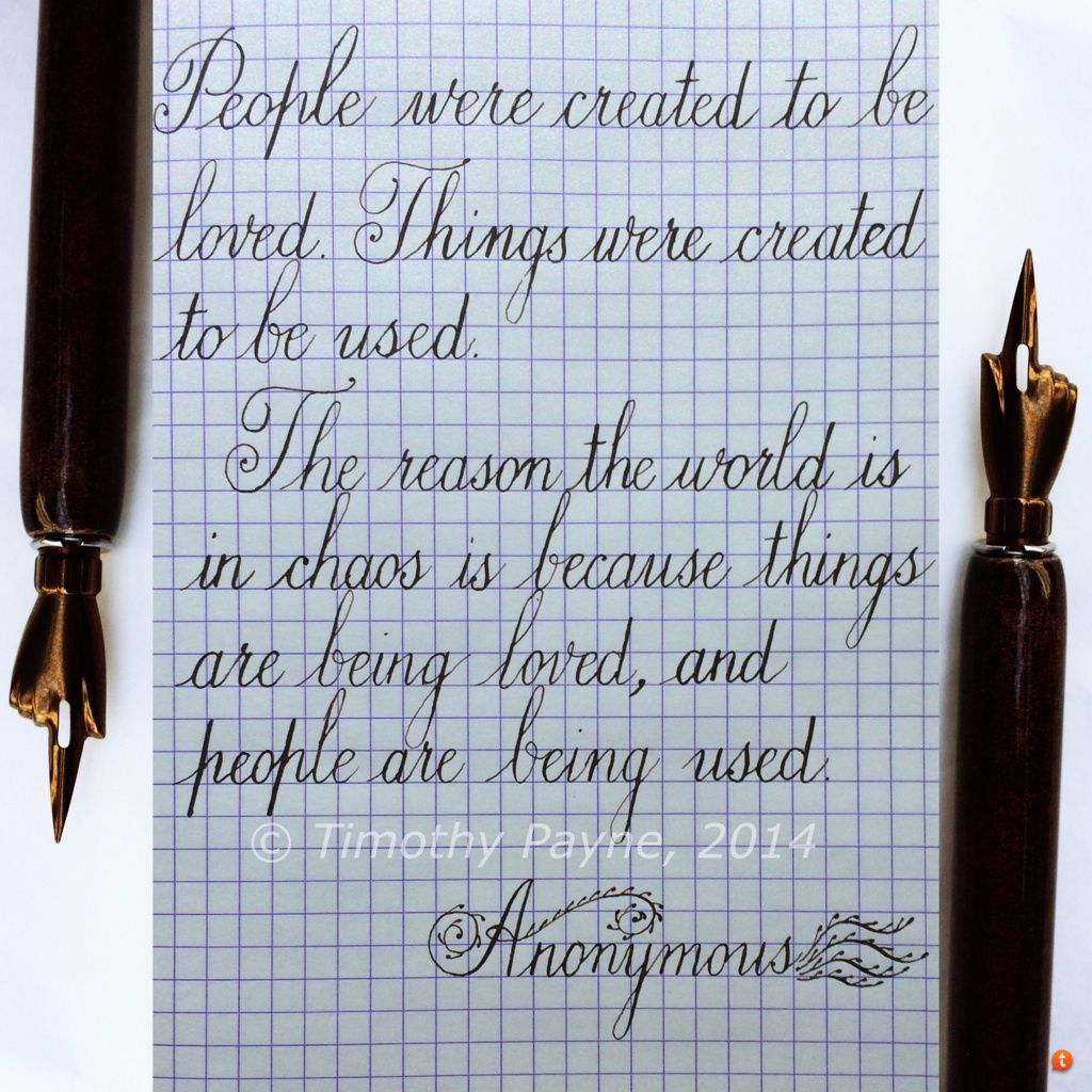Calligraph A Quote
