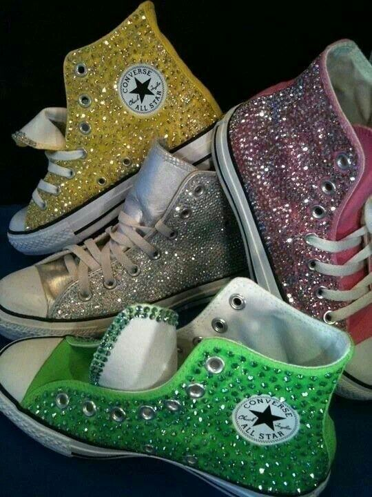 4d150dd3ee8c Blinged Out Converse