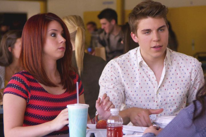 Tamara freaks out when Collin crashes her and Jenna's lunch. | MTV Photo Gallery