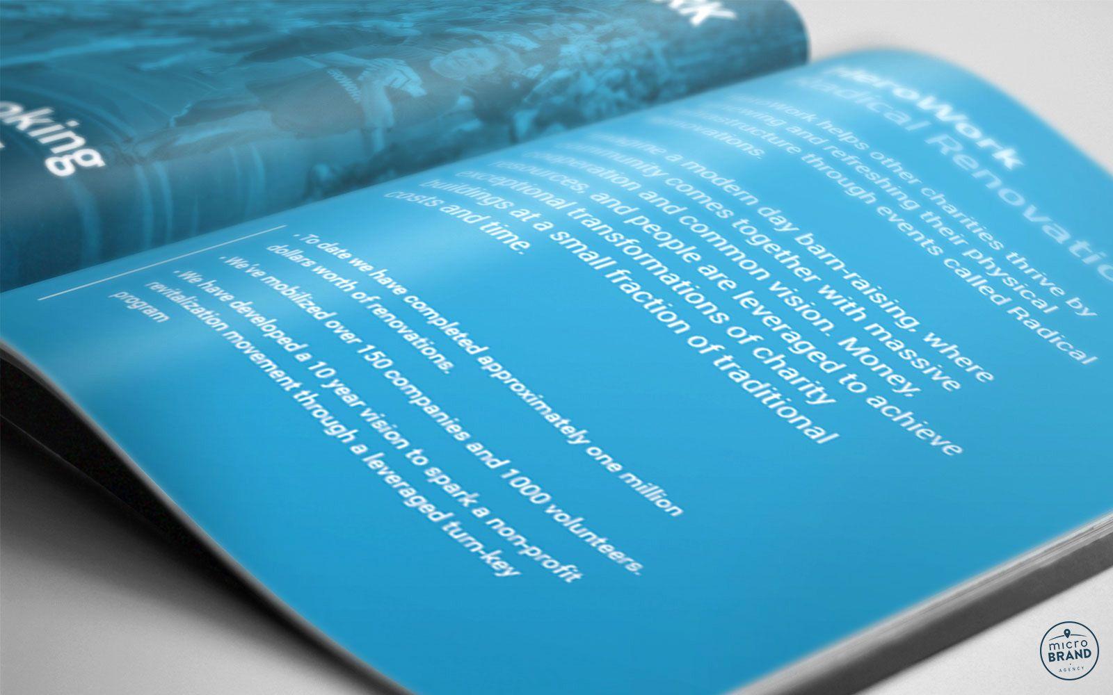 Charitable Organization Print Design