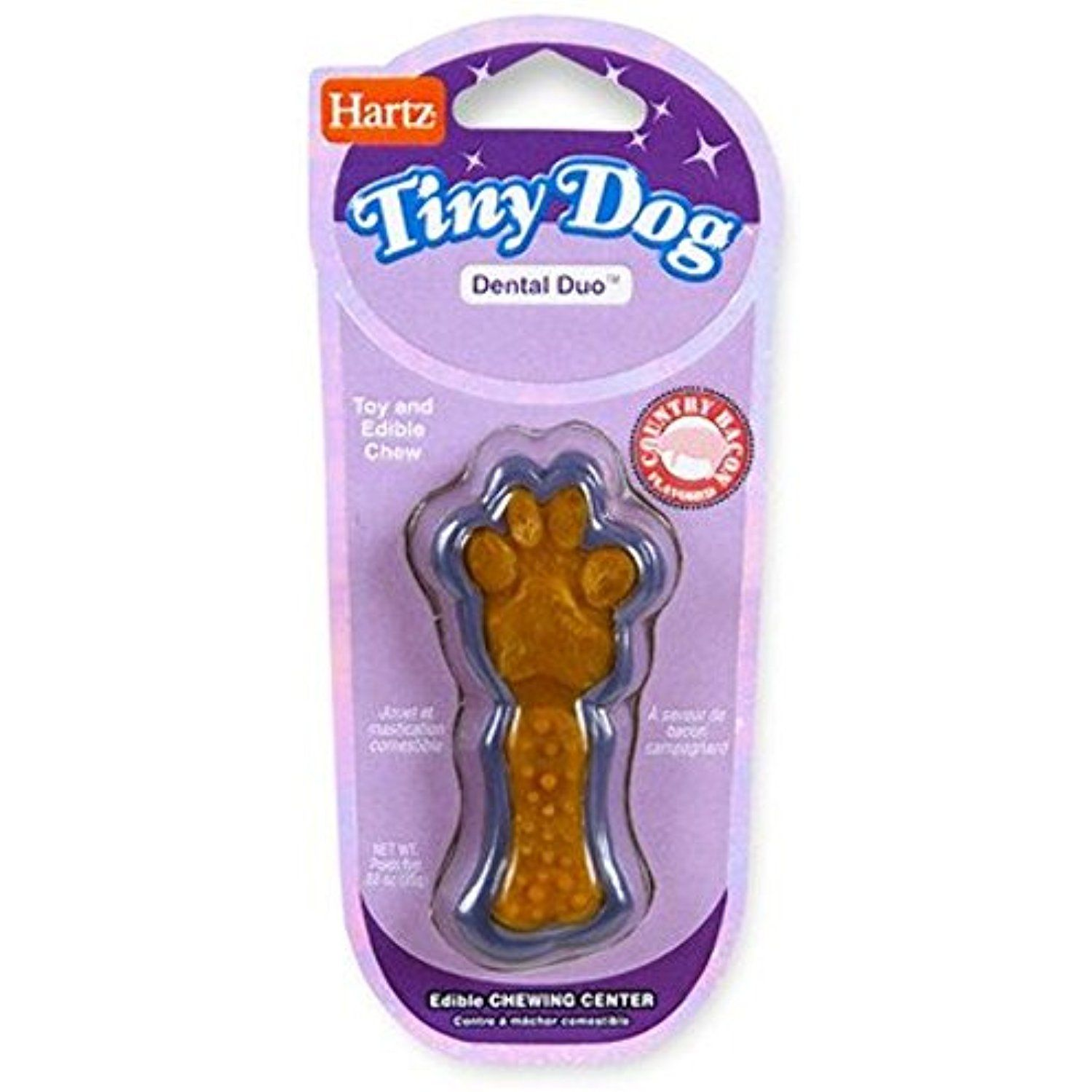 Tiny Dog Dental Duo Dog Toy Edible Chew Combo Set Of 3 You Can