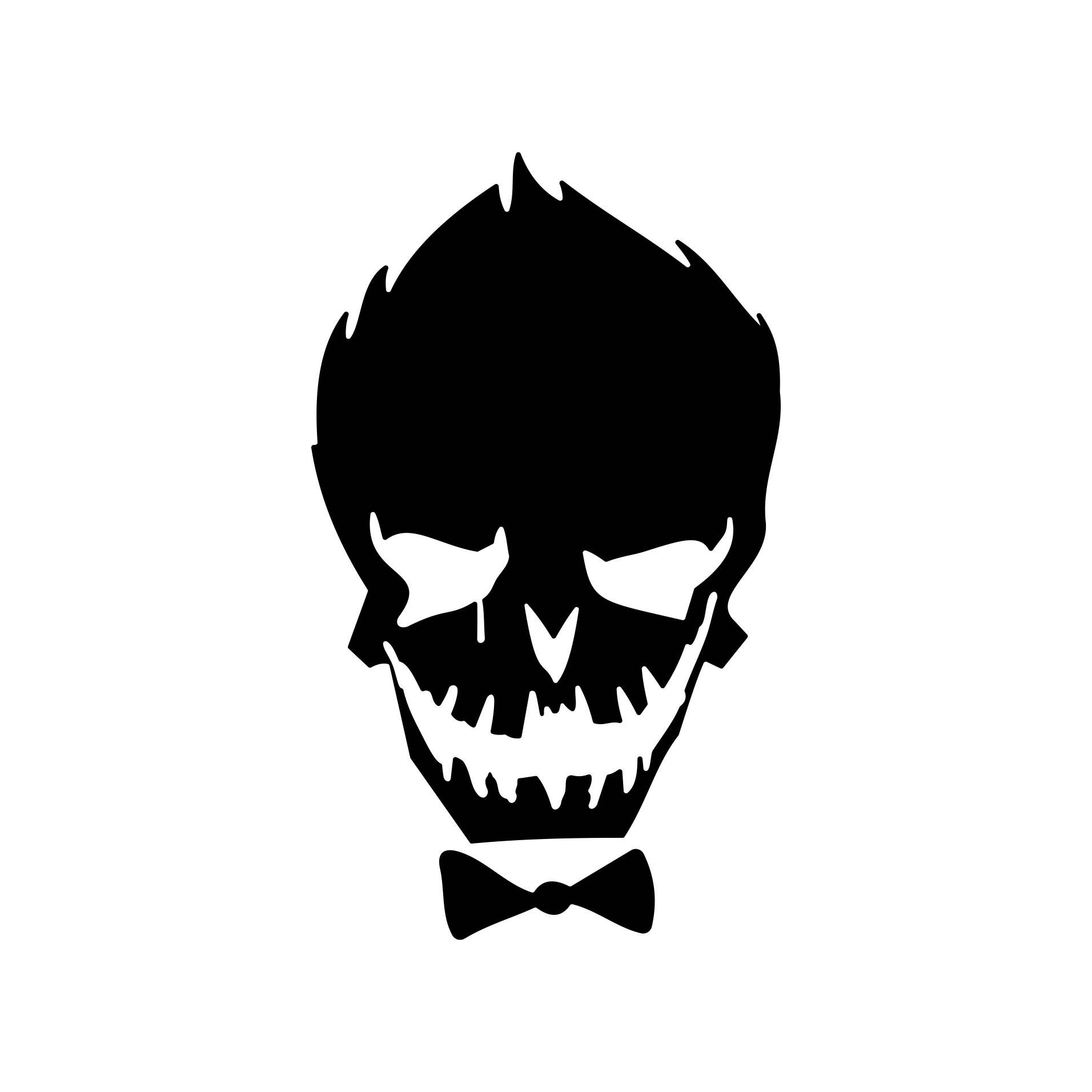 Suicide Squad Joker Harley Quinn Hero Graphics SVG Dxf EPS ...