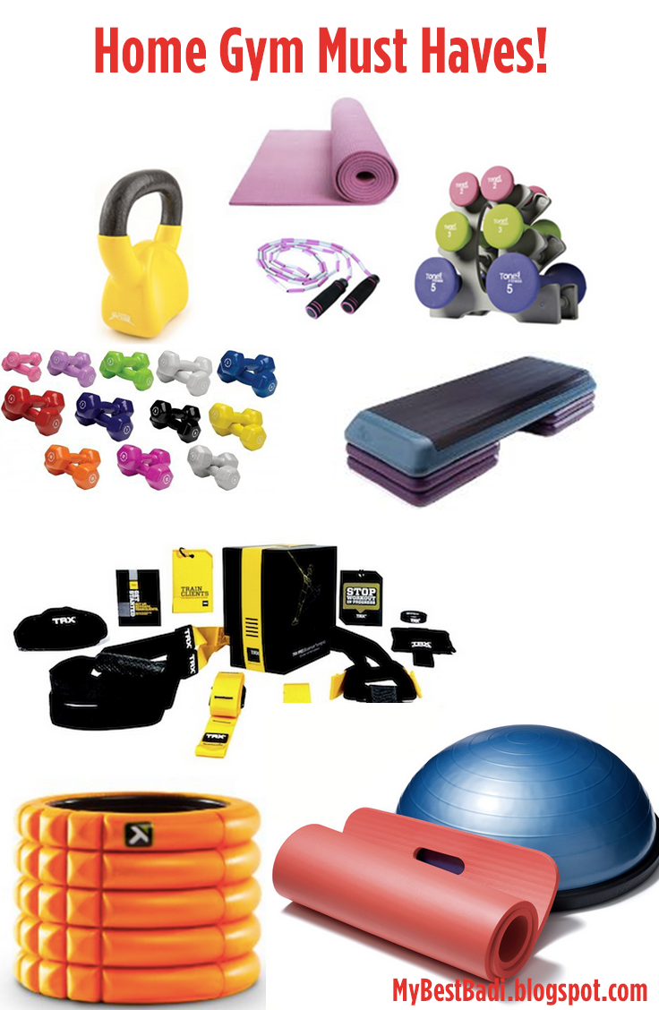 Must have essentials for building your home gym fashion