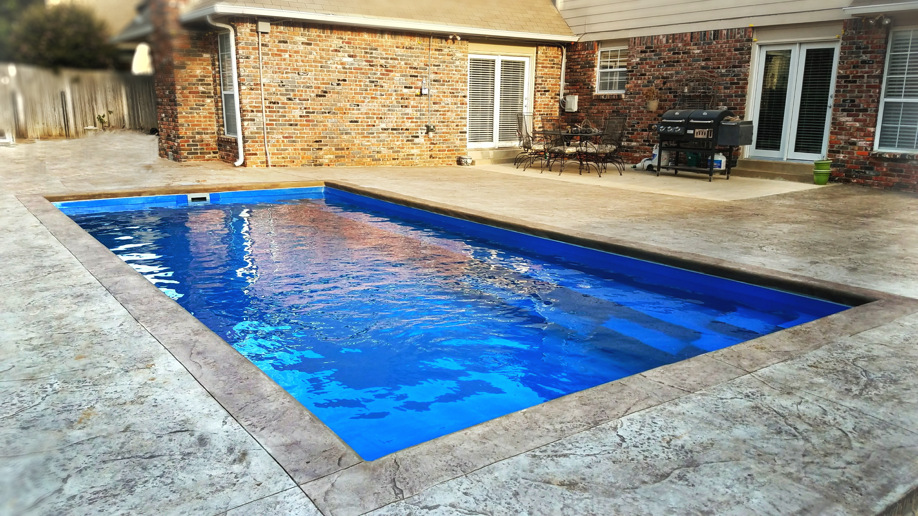 Congratulations To Palm Island Pools Tulsa Ok On Helping Another Family Achieve Their Life Of Leisure With Thei