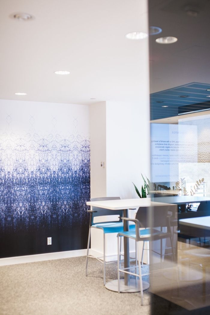 Mckinley burkart have designed the offices of ihs located in calgary alberta mckinley burkart was approached by an information technology giant