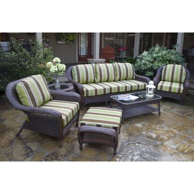 Darby Home Co Fleischmann 6 Piece Seating Group with Sofa Finish ...