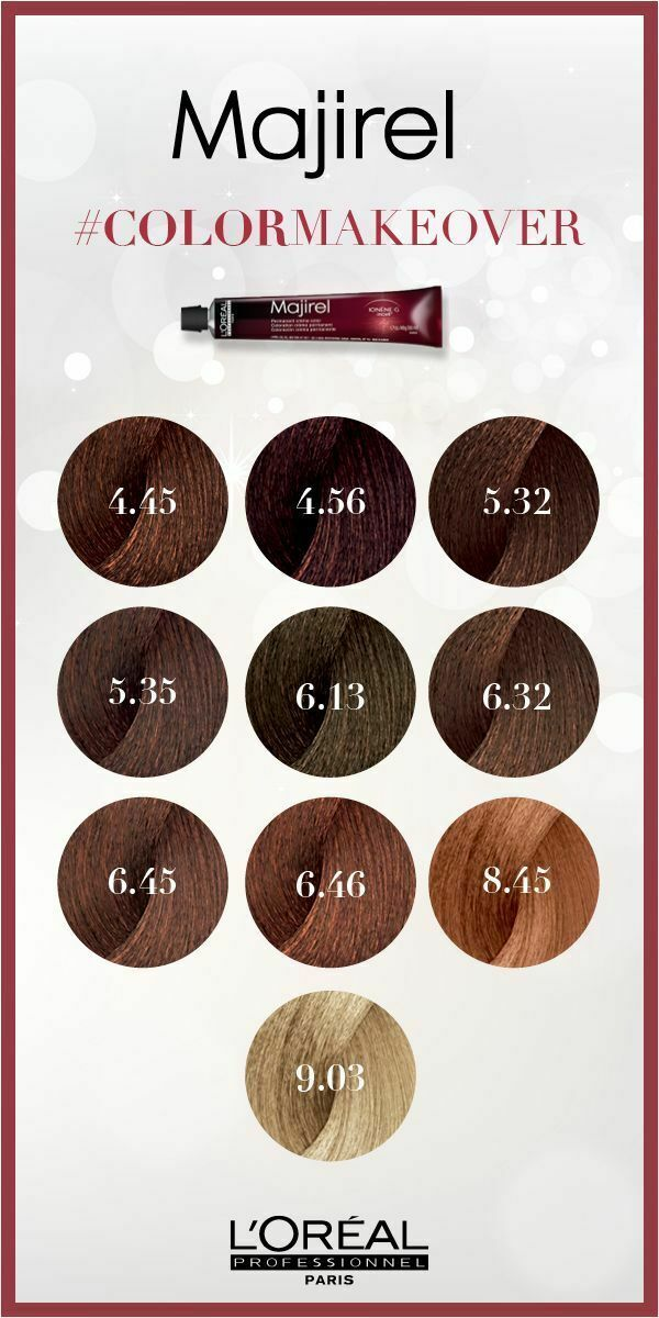 Majireal Makeover 6 45 In 2021 Loreal Hair Color Loreal Hair Color Brown Brunette Hair Color Shades