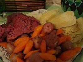 Crock Pot Corned Beef Dinner. Photo by PWatt