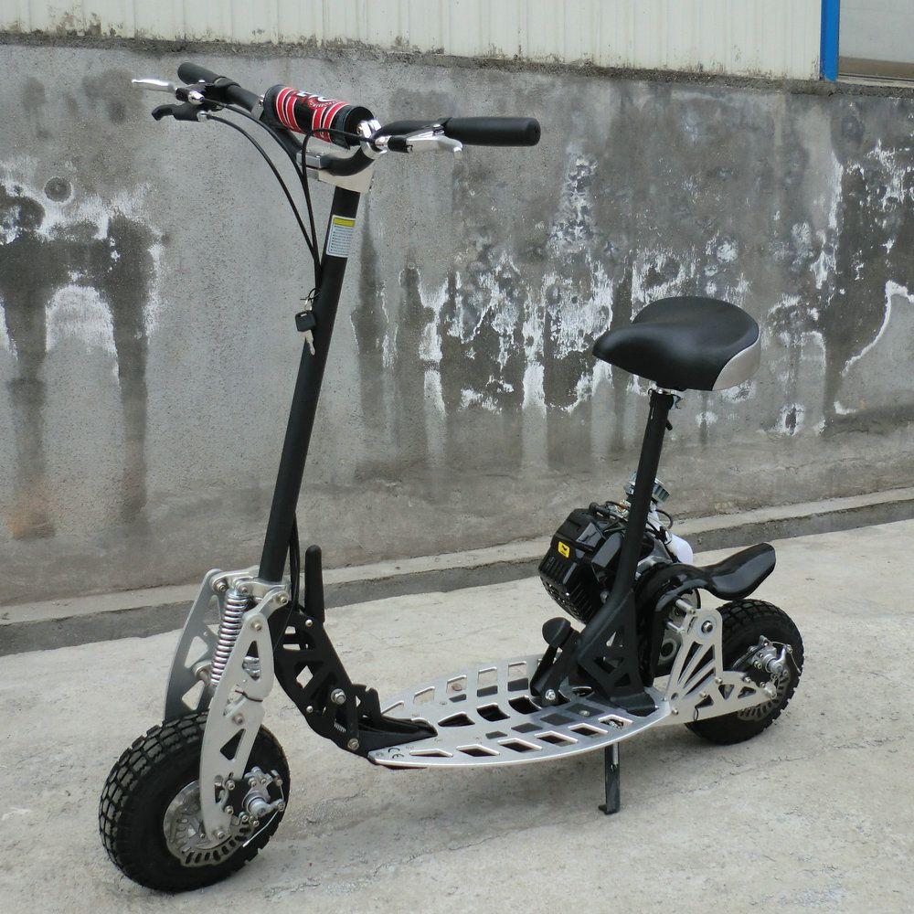 MegaLeg Benzin Løbehjul 49cc Løbehjul, Scooter, Montage