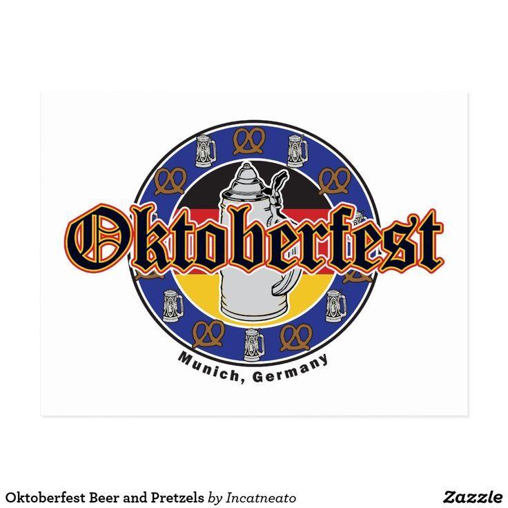 Oktoberfest Bier und Brezeln Postkarte | Zazzle   - Roseann's fun stuff to buy - #Bier #Brezeln #buy #Fun #oktoberfest #Postkarte #Roseanns #stuff #und #Zazzle #stufftobuy