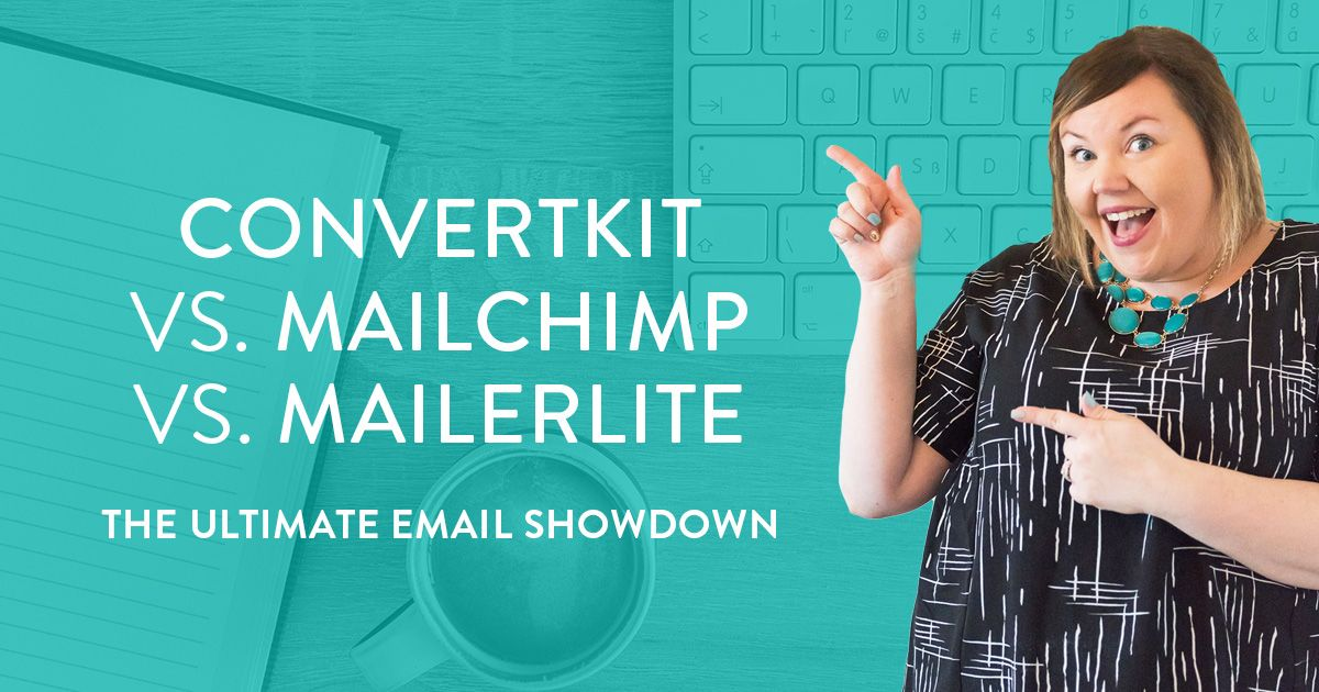 Convertkit vs. Mailchimp vs. MailerLite (The Ultimate