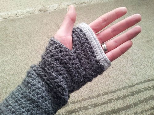 Free Pattern Fingerless Gloves Potential Projects Pinterest