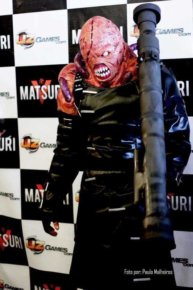 nemesis resident evil biohazard cosplay cosplay ideas