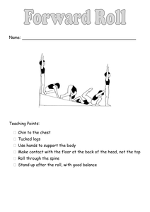 forward rolldoc  teaching tumbling tips gymnastics