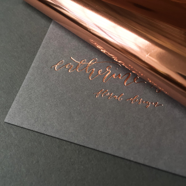 Business Cards Foil Business Cards Rose Gold Business Card Printing Business Cards