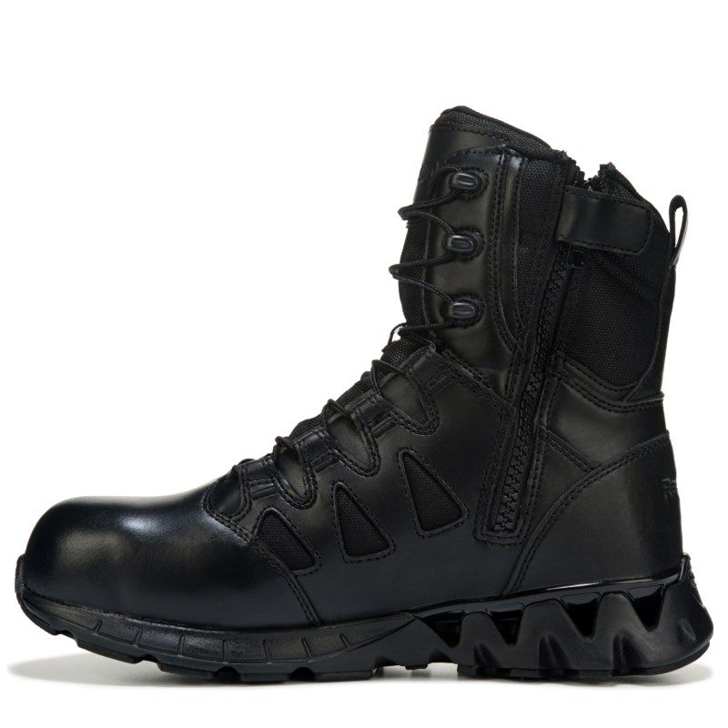 e9221858014 Men's ZIGKICK Tactical 8 | Products | Black leather boots, Boots ...