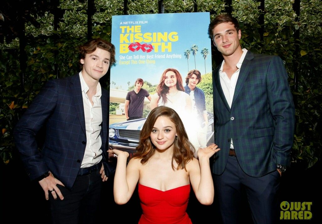 Joey King Jacob Elordi Joel Courtney At The Premier Of New