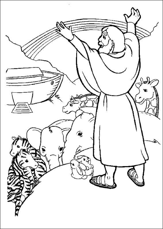 870 Coloring Pages For Bible Stories For Preschoolers Pictures