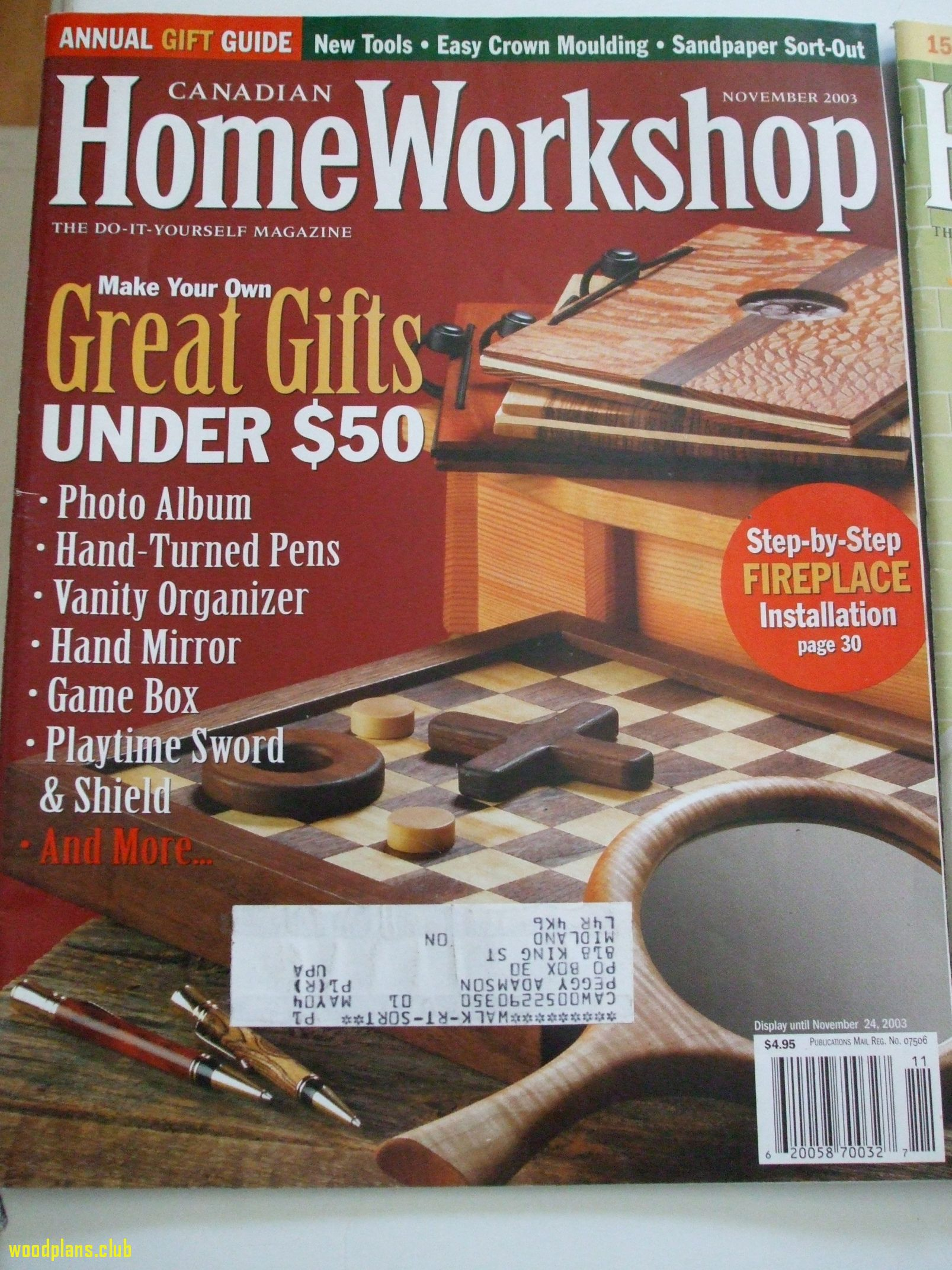 55 Woodworking Magazine Canada Best Way To Paint Furniture Check