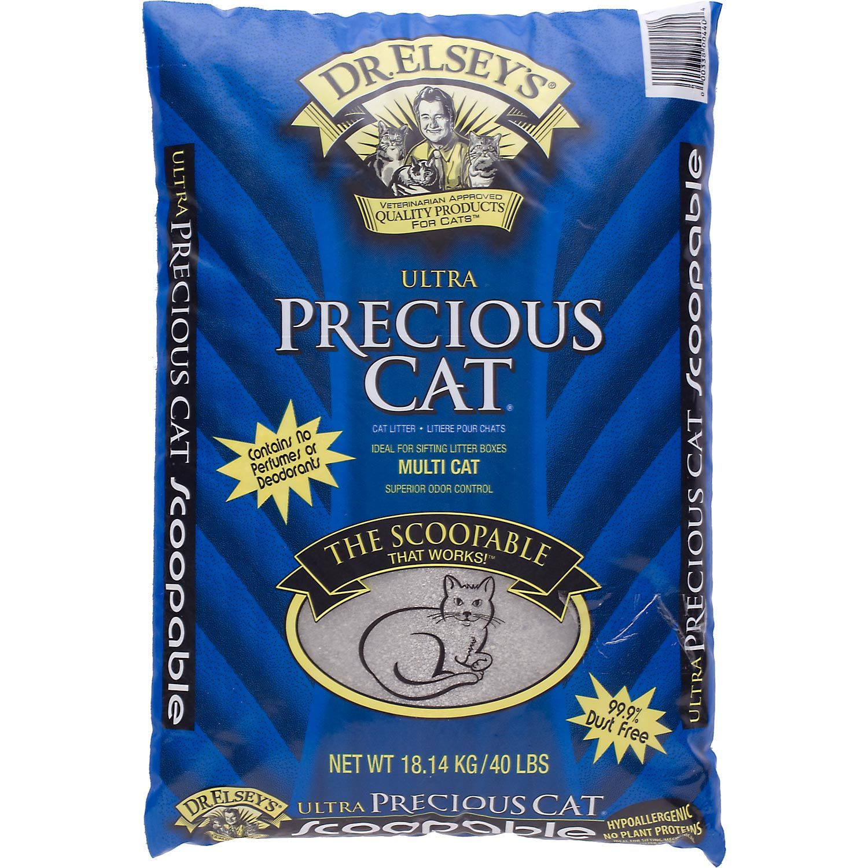 Precious Cat Dr. Elsey's Ultra Scoopable Multi-Cat Cat Litter $15.99
